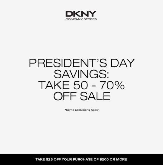 President's Day Savings