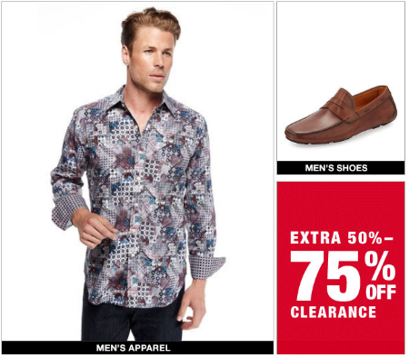 Extra 50%-75% Off Clearance