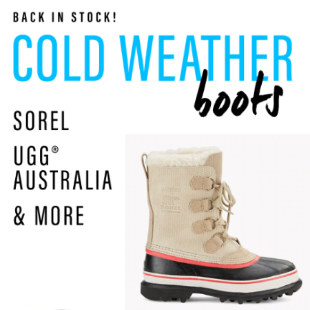Shop Our Cold Weather Boots
