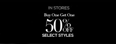 BOGO 50% Off Select Styles