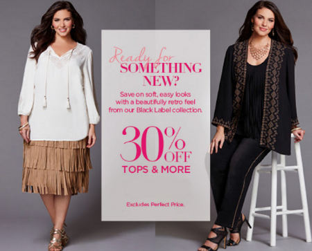 30% Off Tops & More