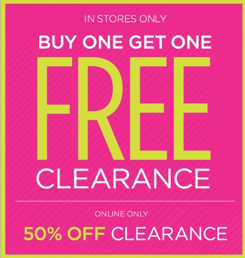 BOGO FREE In Stores! at DEB