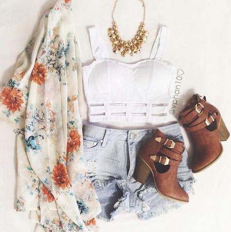 Wear These Fabulous Kimonos at deb Junior & Plus