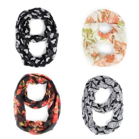 Accessorize With These New Scarves at DEB