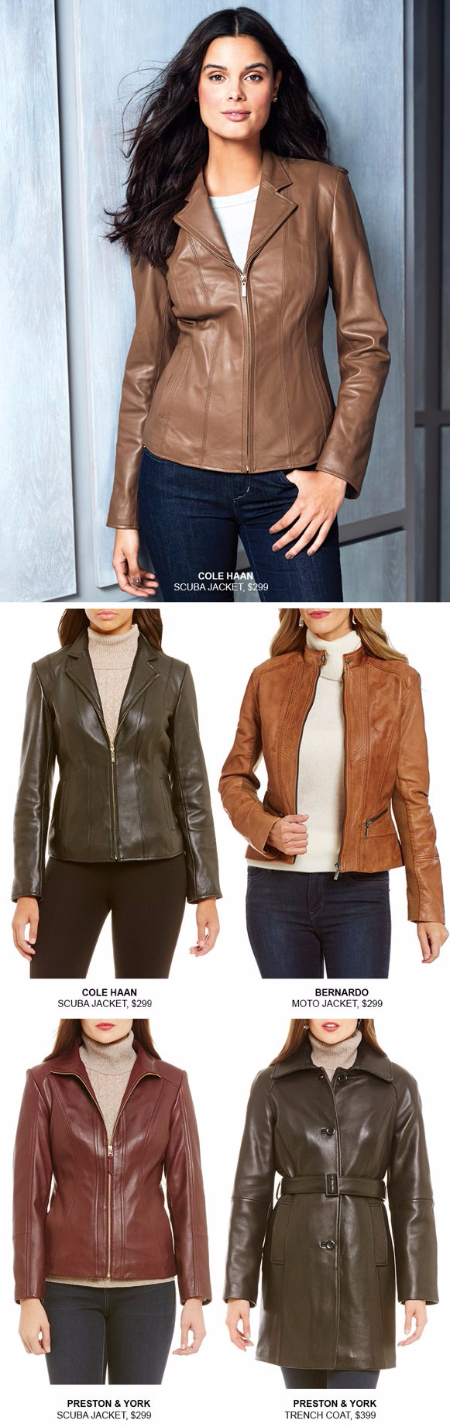 Find Your Perfect Leather Jacket