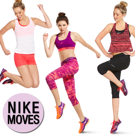 Electrify With Nike Activewear at Dillard's