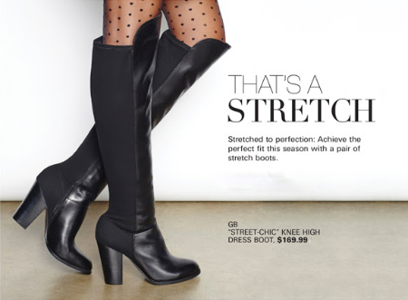 Boots with Stretch