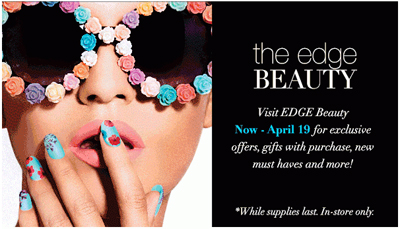 The Edge Beauty at Dillard's