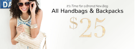 $25 Handbags and Backpacks at Icing