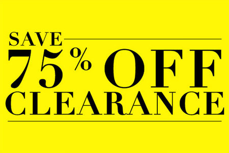 Save 75% Off Clearance at Icing