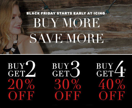Buy More, Save More Black Friday Deals