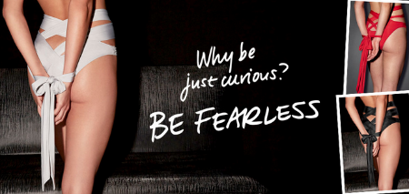 Be Fearless at Frederick's of Hollywood