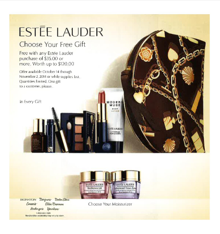 ESTEE LAUDER Choose your Free Gift