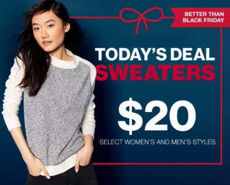 Shop $20 Sweaters