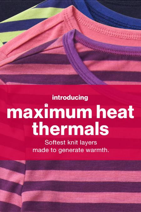 Introducing Maximum Heat Thermals