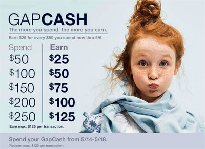 GapCash at Gap