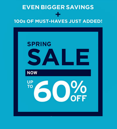 Spring Sale at Gap
