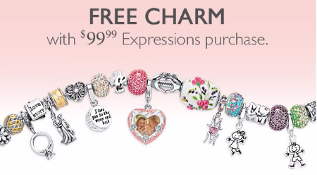 Free Charm With $99.99 Expressions Purchase