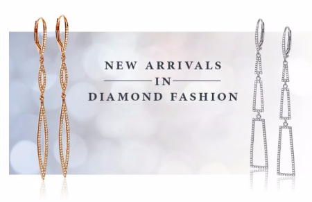 New Arrivals in Diamond Fashion