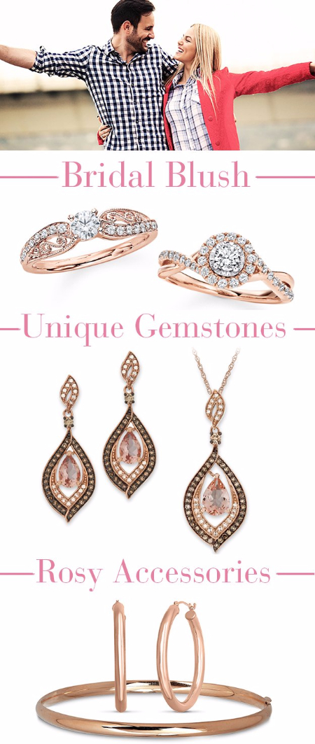 Helzberg Diamonds | Make Her Blush With Rose Gold Pieces