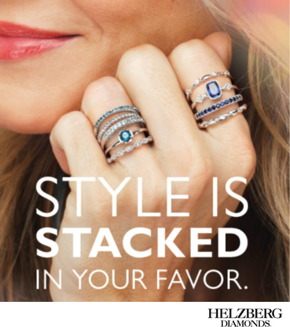 Buy Two Get One Free Sterling Silver Stack Rings $49 Each*