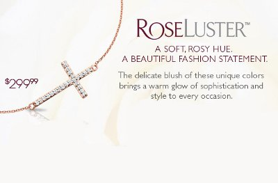 Make A Statement In Rose Gold At Helzberg Diamonds