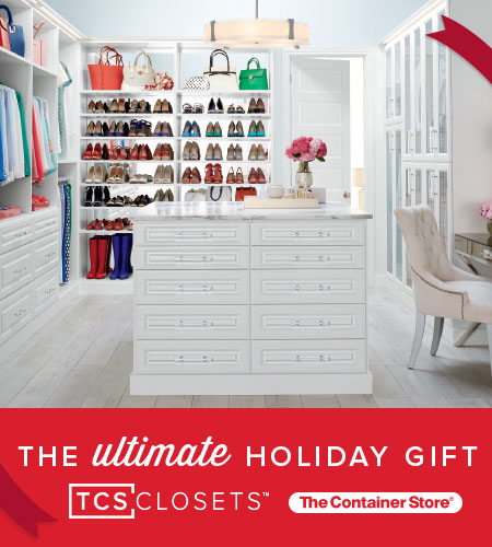 TCS Closets- The Ultimate Holiday Gift! at The Container Store