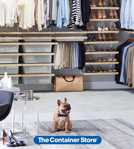 The Container Store Shelving Sale at The Container Store