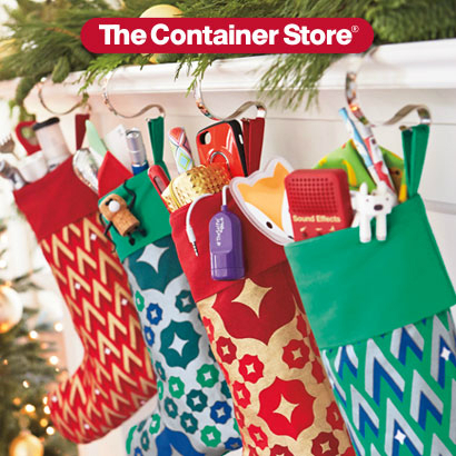 Don't Worry Santa, We've Got This! at The Container Store