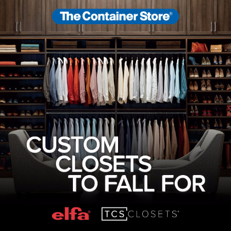 Fall Closet Campaign at The Container Store