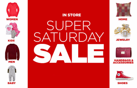 Prairie hills mall super saturday sale at jcpenney for Jewelry store dickinson nd