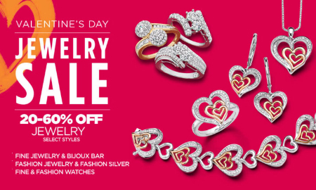 Jewelry Sale 20-60% Off