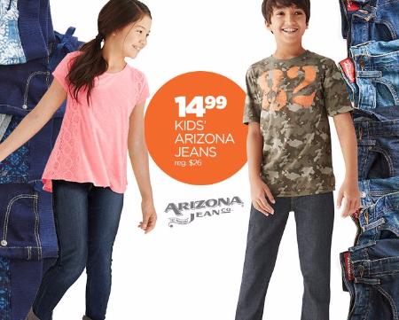 $14.99 & up Kids Arizona Jeans