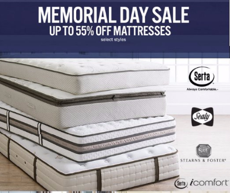 Up to 55% Off Mattresses