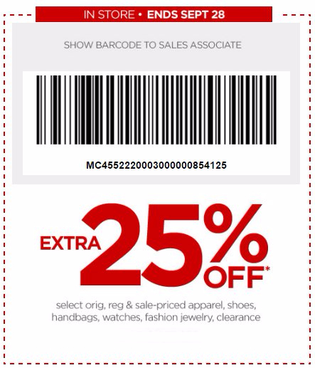 Extra 25% Off Select Orig, Reg, Sale & Clearance-Priced Styles