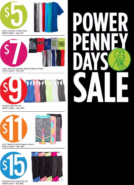 Power Penney Days Sale