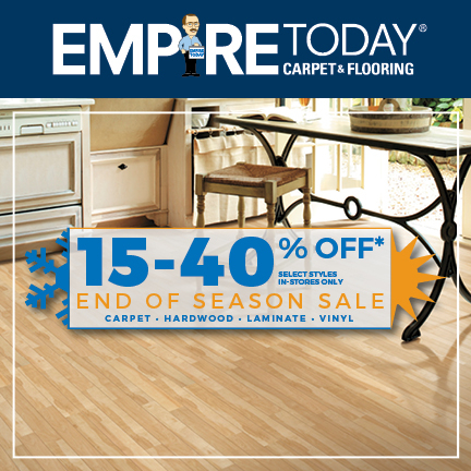 Empire Today End of the Season Sale