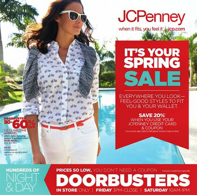 Spring Sale at JCPenney