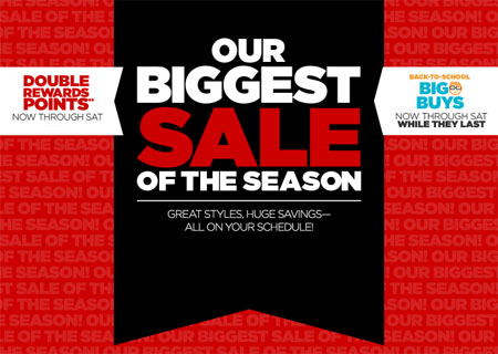 Our Biggest Sale of The Season at jcpenney