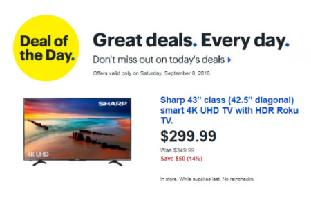 The Rim Shopping Center Deal Of The Day At Best Buy 09 08 2018