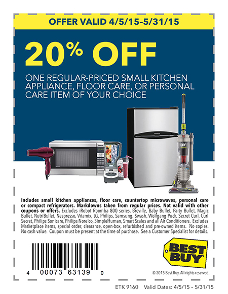 20% off Coupon at Best Buy