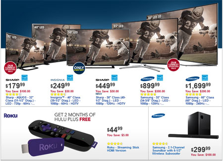 Weekly Specials at Best Buy