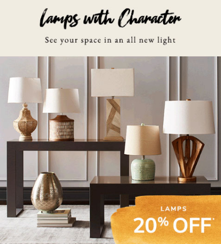 . Eastwood Towne Center     20  Off Lamps     Pier 1 Imports