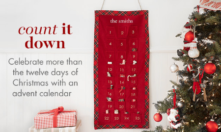 Get Our Advent Calendar at pottery barn kids