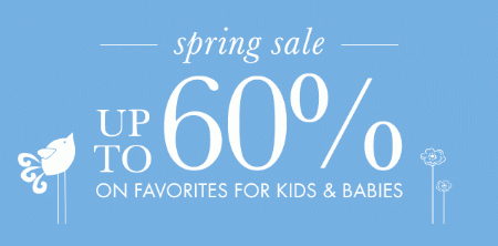 Up to 60% Off Spring Sale at pottery barn kids