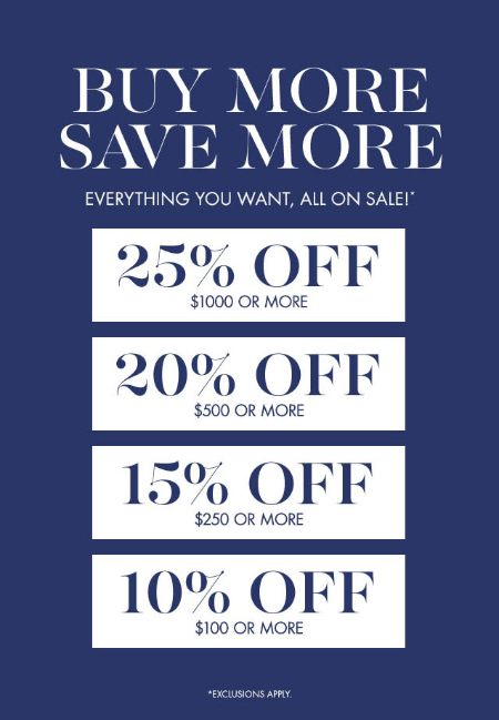 Buy More, Save More at pottery barn kids