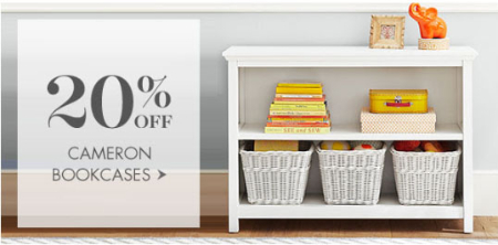 20% Off Cameron Bookcases