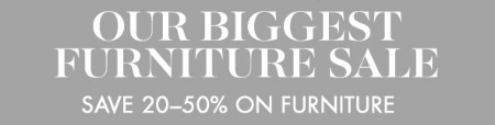 Save 20-50% on Furniture at pottery barn kids