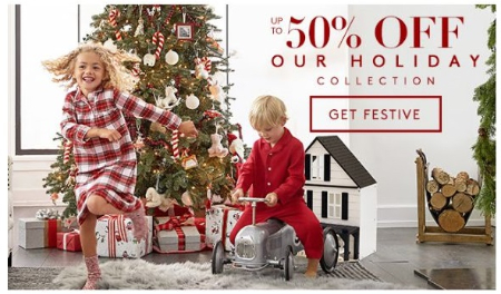 Up to 50% Off Our Holiday Collection