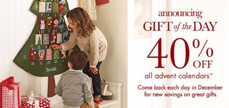 40% Off All Advent Calendars